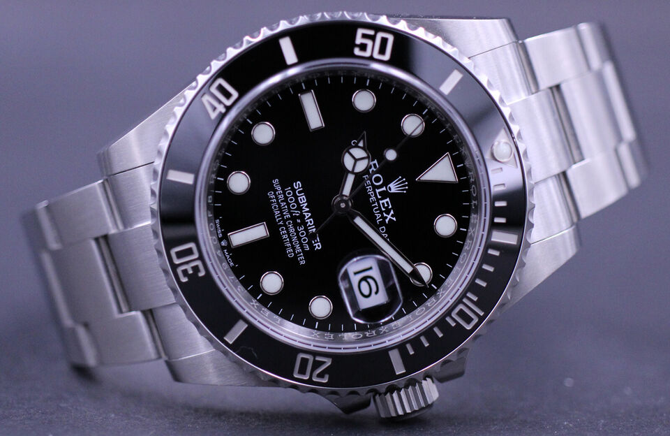 Rolex Submariner 126610LN - Komplet sæt 2021 NEW