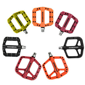 ROCKBROS-MTB-Widen-Nylon-Pedals-Bicycle-Pedal-Bearing-Mountain-Bike-Pedals