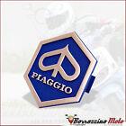 SCUDETTO FREGIO STEMMA ESAGONALE TIPO ORIGINALE PIAGGIO ZIP FAST RIDER 50 1994
