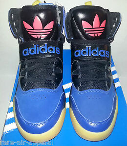 release date e1ae5 fc5c7 Image is loading ADIDAS-ORIGINALS-HACKMORE-TRE-FOIL-HIGH-HI-TOP-