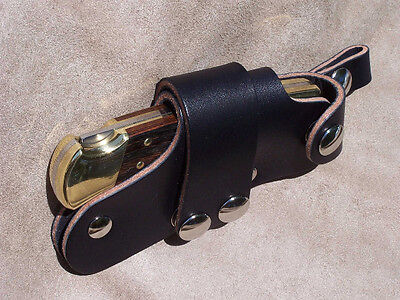 Details about Quick Draw Release Leather Knife Sheath Original Quickdraw  for Buck 110 Knives