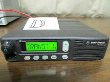 D Motorola Mcs 2000 Mobile Radio 800mhz Uhf 250 Channels M01hx812w As Is