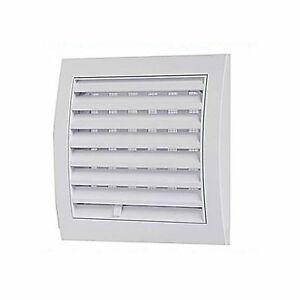 Griglia aria areatore areazione aereazione quadrata 15x15 cm alette regolabile ebay - Areatore per finestra ...