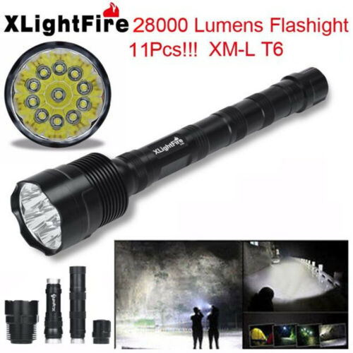 XLightFire 5-18x XML T6 5 Modes Tactical Super Bright LED Flashlight Torch Lamp
