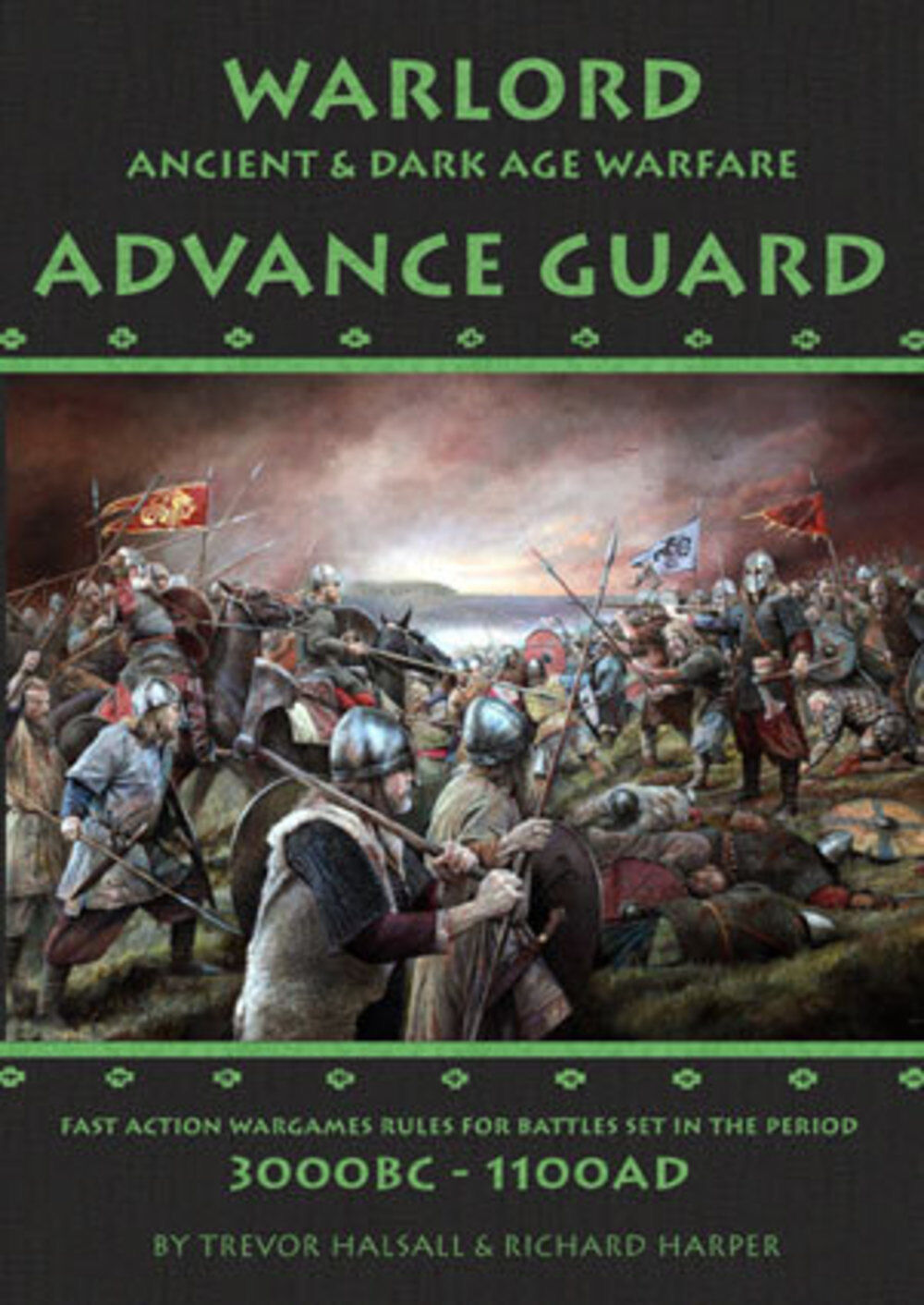 WARLORD WARLORD WARLORD ADVANCE GUARD - ANCIENT & DARK AGE WARFARE