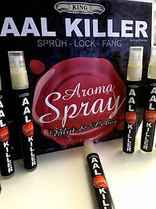 AAL-KILLER-SPRAY-034-Blut-amp-Leber-034-Aroma-Spray-034-Bloody-Mary-034-by-King-Fishing