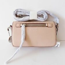NWT Marc Jacobs Recruit Leather Crossbody Bag~ M0008896 ~ Nude