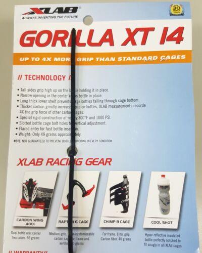 XLab Gorilla XT I4 Carbon Rear Bottle Cage Matt-Black