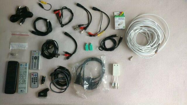 Sammlung Konvolut Kabel und Zubehör Audio Video PC