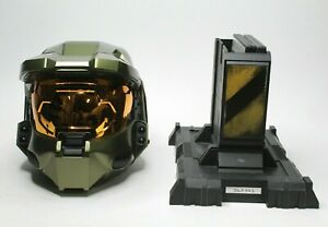 Halo 3 Legendary Edition Master Chief Helmet Stand & Games Mint Xbox 360