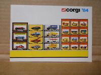 1984 Corgi Toys Dealer Catalog, Mint Condition Spiderman, Mint Unused