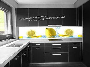 Kuchenruckwand Zitrone Kuchenspiegel Fliesenspiegel