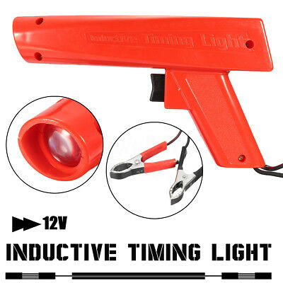 Engine Ignition Inductive Timing Light Automotive Lamp Strobe Tester Gun H8000