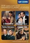TCM Greatest Legends Gary Cooper 0883929290574 DVD Region 1 P H