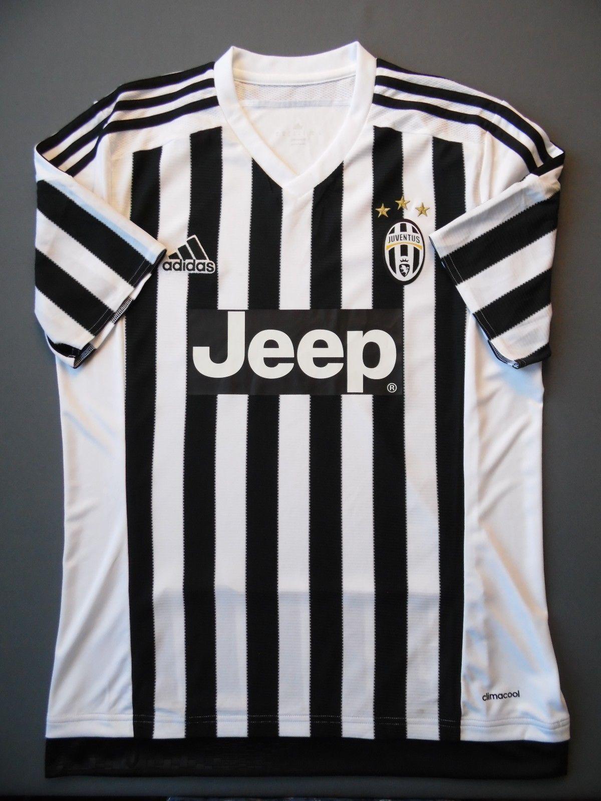 75fcb29d4 5+ 5 Juventus jersey S M home 2015 2016 shirt soccer AA0336 ig93 adidas L  nvzmvf3308-Soccer-International Clubs