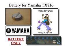Battery for Yamaha TX816 MIDI Rack - Internal Memory Replacement Battery