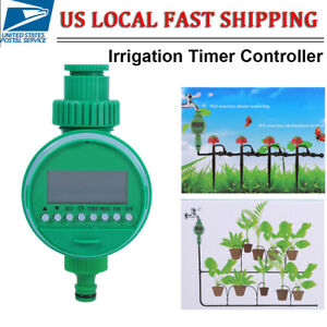 X2 WATERING TIMER IRRIGATION SYSTEM WATER GARDEN TAP AUTOMATIC ELECTRONIC UK