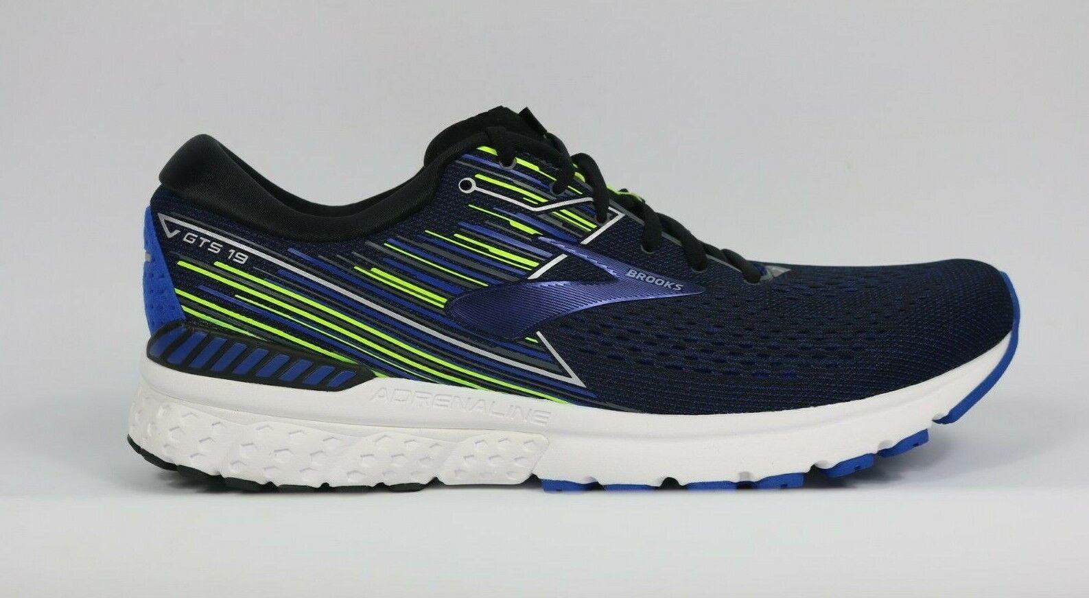 Brooks Adrenaline GTS 19 Men's Blue Running Trainers 110294 (B Width) UK 14