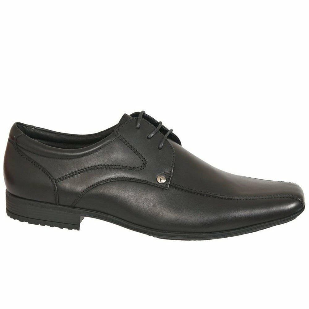 Front Snowden Mens cuir Lace Up chaussures intelligents