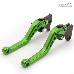 Short Brake Clutch Levers /& Handle Grips Set For SUZUKI GSXR600//750 06-2009 2010