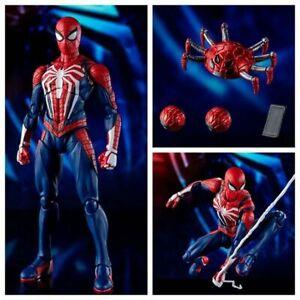 6-034-Avengers-Super-Hero-ps4-Spiel-Spider-Man-Advanced-Kostuem-Cartoon-Toy-figur