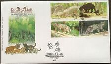 M'sia FDC Endangered big cats 23.12.2013