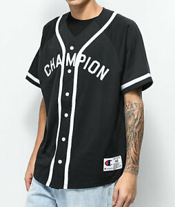 NWT-Champion-Braided-Baseball-Jersey-Top-Tee-Tshirt-Select-Color-Size-SOLD-OUT