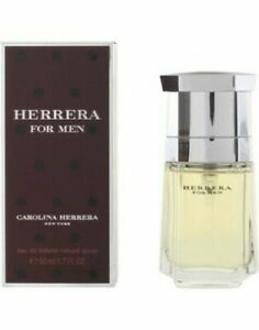 50ml-Carolina-Herrera-Eau-de-toilette-for-Men-1-6-oz-Descatalogado