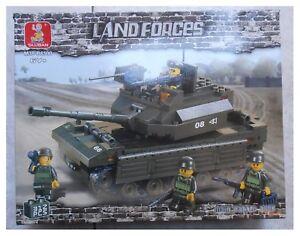 Costruzioni-Sluban-Land-Forces-carro-armato-main-battle-tank-312-pezzi-tipo-Lego