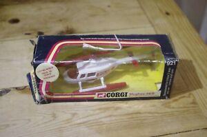 Corgi-Hughes-369-Helicopter-Boxed-No-921