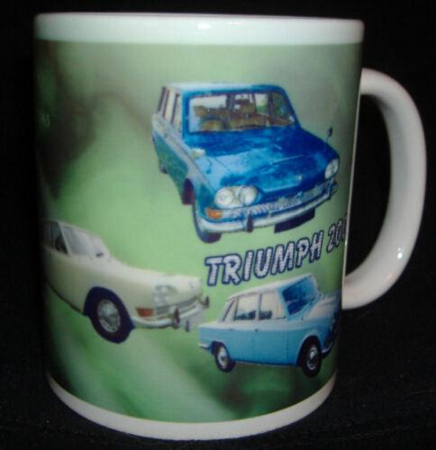 Limitada edition.top Regalo Triumph 2000 Coche Clásico Taza
