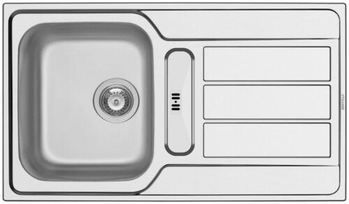 PYRAMIS Edelstahlspüle Athena 86 x 50 cm Küchenspülen Küche Ordnung