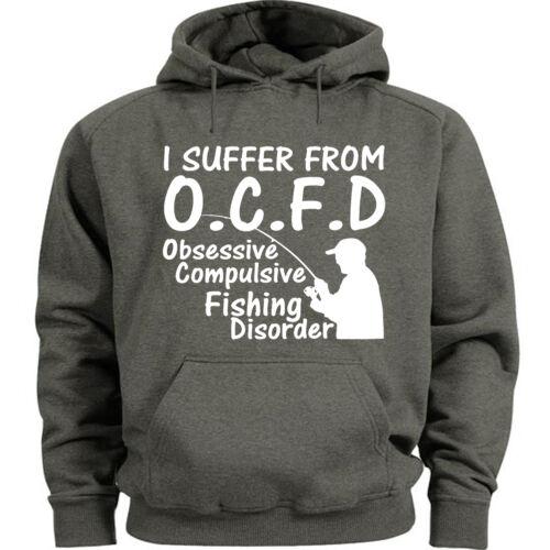 Funny fishing sweatshirt hoodie for men fishing fisherman gift for him dad Men/'s