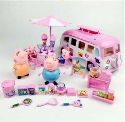 Peppa Pig Papa Mama Schorsch Wutz Familie Freunde Geburtstag Kinder Toy Gift Pop