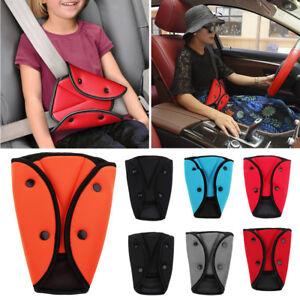 Car Children Safety Cover Shoulder Harness Strap Adjuster Kids Seat Belt Clip