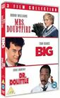 Big Mrs Doubtfire Dr Dolittle 3xdvd R4