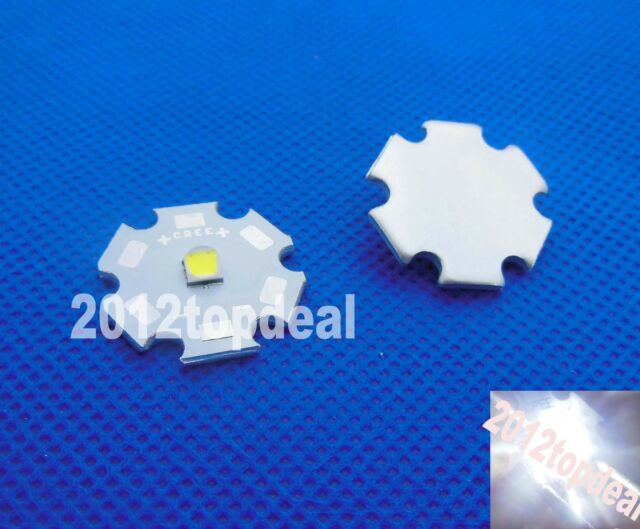 NEW Cree XLamp XP-L XPL Cool White LED 1079LM 200lm/W with 20mm Star pcb