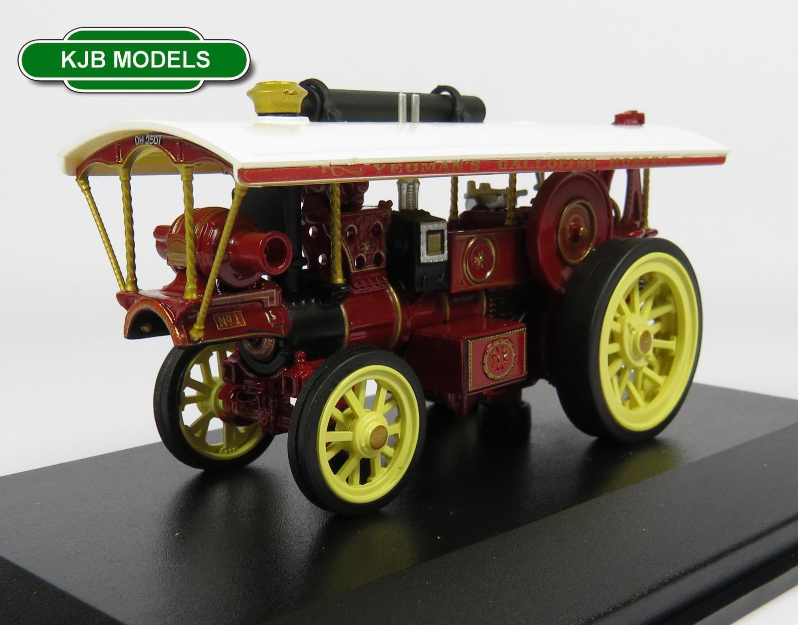 BNIB OO GAUGE OXFORD 1 76 76BUR005 BURRELL SHOWMANS ENGINE ENGINE ENGINE LOCO No1 FAIRGROUND  gran descuento