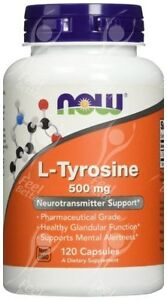L-TIROSINA-500mg-x120caps-capsulas-DOPAMINA-Precursor