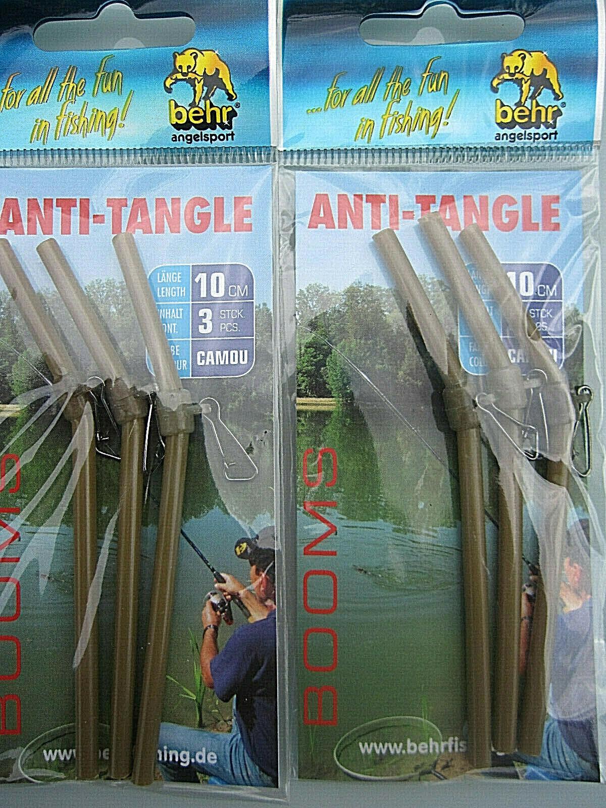 Balzer Abstandshalter Messing 10cm Anti Tangle Boom Goldfarben NEW OVP