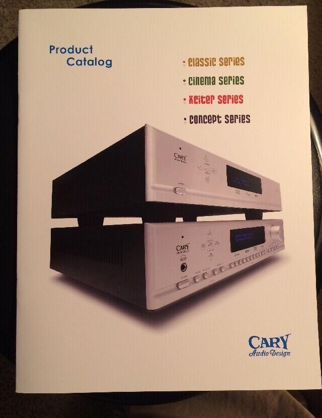 Carey Audio Design RARE 20+Page Catalogue Mint    Wow