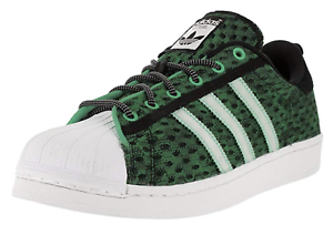 Adidas Superstar GID Glow in the Dark Green Sneakers F37671 Mens New Fashion