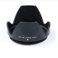 52mm Flower Petal Lens Hood For Nikon D3100 D5000 D3000 D5100 D5200 D60 AF-S DX
