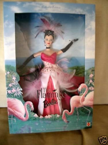 Barbie The Flamingo Barbie Collector Edition 1998 NRFB