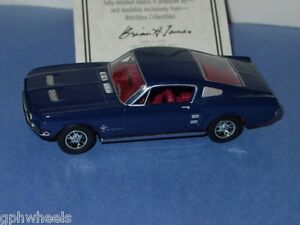 Details about Matchbox MOY 1967 67 FORD MUSTANG FASTBACK -Dark Blue 1/43  MINT IN BOX
