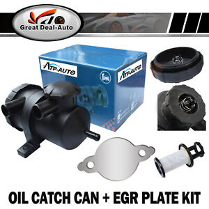 Oil-Catch-Can-EGR-Blanking-Block-Plate-Fit-Nissan-Navara-D40-2-5L-YD25-Turbo-4WD