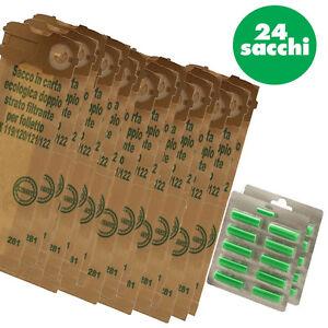 24-SACCHI-FILTRO-20-PROFUMI-FOLLETTO-VK120-VK121-VK122-ADATTABILE