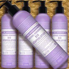 Dr. Bronner's Magic Body Lotion Lavendel Kokosnuss 237ml Naturkosmetik fair bio