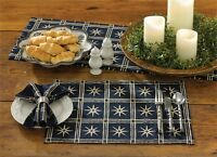 Colonial Williamsburg Virginia Windsor Star Indigo Placemat