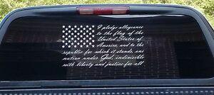 American-flag-pledge-of-allegiance-vinyl-truck-window-sticker-decal